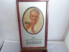 Antique /Vintage HOHNER HARMONICA WOODEN SHOP DISPLAY BOX ADVERTISMENT