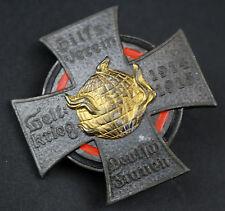 Cruz Club De Ayuda Mujeres Alemanas Ii Guerra Mundial 1914/15