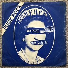 "Sex Pistols God Save The Queen Mega Rare 1977 Orig TURKEY West  7"" + Punk PS PIL"