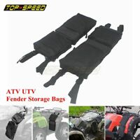 600D Waterproof Cargo Storage Hunting Fender Bag For ATV UTV 4-Wheeler Universal