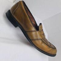Allen Edmonds Randolph Mens 10.5 D Brown Leather Penny Loafer Dress Shoes 4838