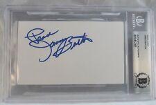 James Burton Signed Autographed 3x5 Index Card BAS Certified Slabbed #3 Elvis