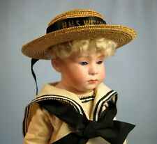 Antique Gebruder Heubach Pouty Character Boy Doll Germany 6 Glass Eyes Sotheby's