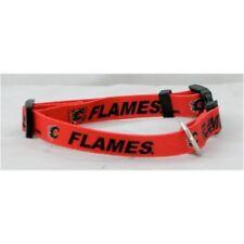 Calgary Flames NHL Extra Large XL Dog/Cat Pet Collar