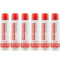 6pz BOROTALCO INTENSIVE deodorante spray 150ml corpo deo NUOVO anti aloni