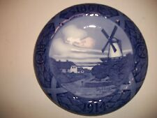 """Royal Copenhagen Plate 1914 Mill Of Dybbol 8"""" 2,814 Made Rc#148 / See Details"""