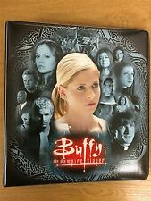 Buffy The Vampire Slayer Season 7 Official INKWORKS Binder