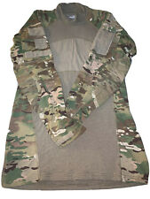 Massif Army Military Camo Combat Shirt (Size:M) Flame resistant