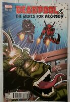 DEADPOOL THE MERCS FOR MONEY # 2 VARIANT EDITION - MARVEL COMICS
