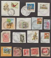 NSW postmark selection on piece including KGV all start with Q
