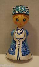 Russian Matryoshka - Handmade Linden Wood Doll Small #10