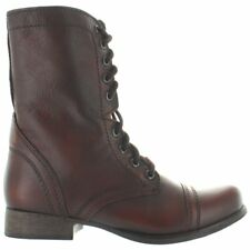 e4d1e667f98 Steve Madden Low Heel (3/4 in. to 1 1/2 in.) Combat Boots for Women ...