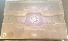 starcraft 2 heart of the swarm collectors edition nib sealed