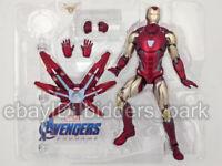 """Marvel Armored Iron Man Avengers Endgame 7"""" MK85 MARK 85 Action Figure Toys gift"""