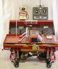Vtg Tamiya Clod Buster RC Truck -Red