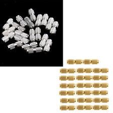 40 Pieces Copper Barrel Screw Clasps Screw Connector Jewelry Making Supplier