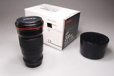 CANON EF 200mm 1:2.8 L II USM/MARK II/MK2 LENS W/CAPS&HOOD&BOX MINT