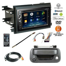Double DIN Bluetooth USB Car Stereo+Backup Camera+Ford F-Series Radio Dash Kit