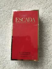Escada Margaretha Ley Eau de Parfum spray, New, 50ml, Rare and vintage