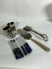 Unbranded Antique Silver Plate Forks