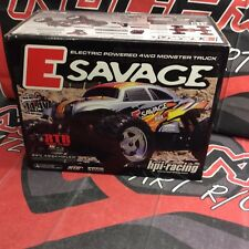 HPI E Savage, HPI508, With Baja TT Body, New, vintage, RTR