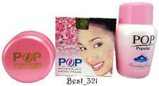 Pop Popular Facial Creme + Pop Popular Vanishing Cream Freckles Blemish Acne