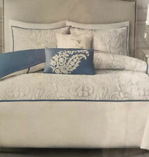 HARBOR HOUSE BOXTON KING-CAL KING 5pc DUVET SET BLUE-IVORY PAISLEY