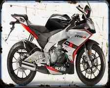 APRILIA Rs4 50 15 A4 Metal Sign moto antigua añejada De