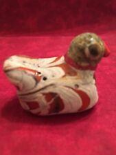 Old Vintage Antique Phoenician Mosaic Glass Bird Bead / Pendant. Very Rare