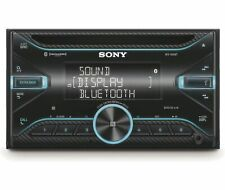 Sony WX-920BT, Double DIN CD/MP3 Bluetooth Car Stereo w/ Variable Color Display