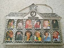 School house 1st grade to 12th grade wall hang picture frame made in Taiwan