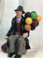 Vintage Royal Doulton The Balloon Man HN1954 English Porcelain Figurine