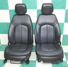 11 Cts Sedan Black Leather Power Amp Manual Buckets Seats Tracks Hot Rod Ebony Fits Cts V
