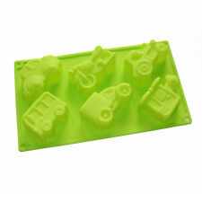 Vehicles Car Soap Silicone Mold Crayon Cake Jello Chocolate Fimo Kids Favor