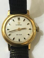 Omega Vintage Ladies Watch Automatic De Ville Runs
