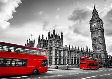 A4| Houses Of Parliament Big Ben Poster Print Size A4 London Poster Gift #16177