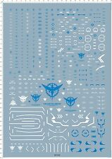 Super Detail Up 1/60 Scale PG GN-001 00 EXIA Gundam Model Kit Water Slide Decal
