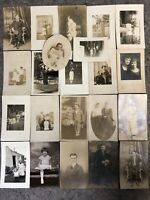 Lot of RPPC Real Photo Postcards-Lot B