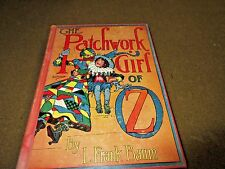 THE PATCHWORK GIRL OF OZ   CHILDREN'S BOOK