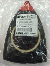 2609001000 Sander Plate: Genuine BOSCH-SKIL-DREMEL spare-part