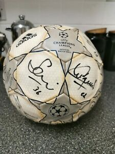 Champions League Football Signed By Liverpool Fc, 2000-2001