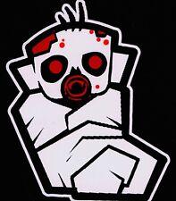 Bloody Little Zombie Baby Walking Dead Family Vinyl Decal Sticker
