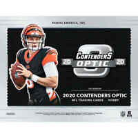 2020 Panini Contenders Optic FOOTBALL Hobby Box FACTORY SEALED BOX NFL-HERBERT?