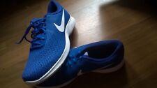 cooler nike sneaker revolution 4  blau mit weißem nike-emblem größe 46 neuwertig