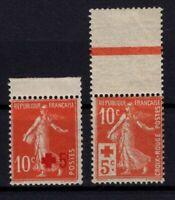 CS144176/ FRANCE / RED CROSS / Y&T # 146 - 147 MINT MNH – CV 130 $