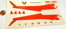 Hubschrauber MI-4  VEB Plasticart Nassschieber VEB 056624  # HN5 å
