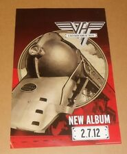 Van Halen A Different Kind of Truth Two Sided 2012 Promo Original Poster 14x22