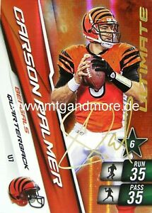 Adrenalyn XL NFL - Carson Palmer - Bengals  #7 Ultimate