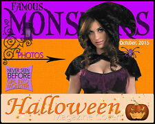 M8 Halloween Magazine Covers Digital Backgrounds Backdrop Templates Holiday Prop