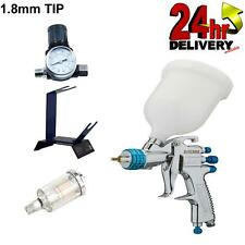 Devilbiss Slg 620 18mm Spray Gun Gravity Feed With Stand Gauge Amp Filter